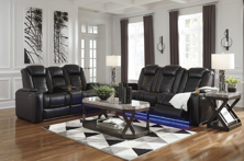 Picture of Party Time Midnight 2-Piece Power Reclining Living Room Set