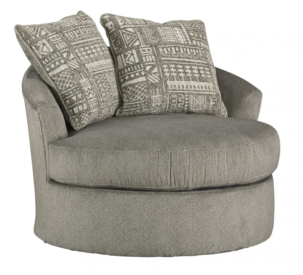 Picture of Soletren Ash Swivel Accent Chair