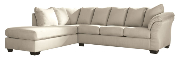Picture of Darcy Stone 2-Piece Left Arm Facing Sectional