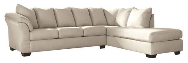 Picture of Darcy Stone 2-Piece Right Arm Facing Sectional