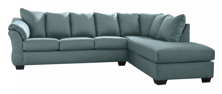 Picture of Darcy Sky 2-Piece Right Arm Facing Sectional