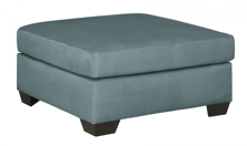 Picture of Darcy Sky Oversized Accent Ottoman