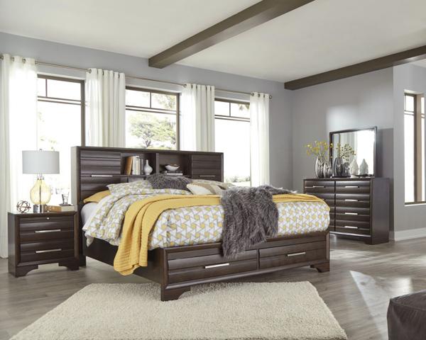 Andriel 6-Piece Queen Storage Bedroom Set