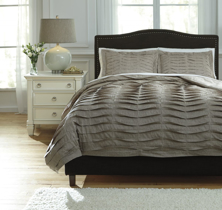 Picture of Voltos Brown Queen Duvet Cover Set