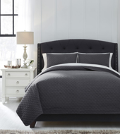 Picture of Ryter Charcoal King Coverlet Set
