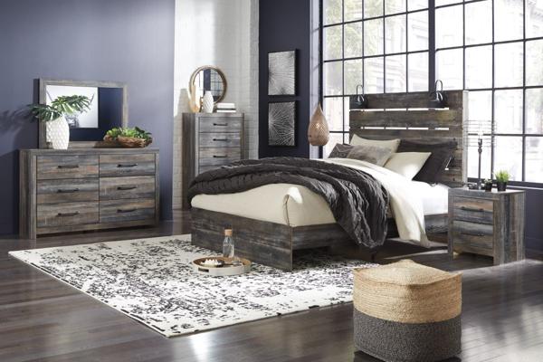 Picture of Drystan 6-Piece Queen Panel Bedroom Set