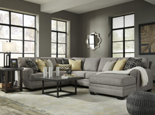Picture of Cresson Pewter 4 Piece Right Arm Facing Sectional