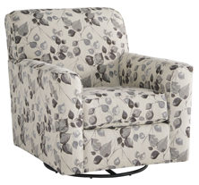Picture of Abney Driftwood Swivel Accent Chair