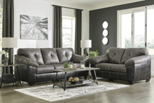 Picture of Gregale Slate 2-Piece Living Room Set
