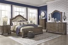 Picture of Charmond 6-Piece Queen Sleigh Bedroom Set