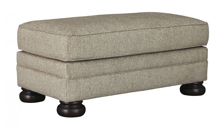 Picture of Kananwood Oatmeal Ottoman