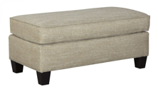 Picture of Almanza Wheat Ottoman