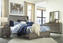 Picture of Arnett 6-Piece Queen Bookcase Bedroom Set