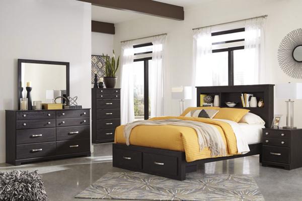 Reylow King 6-Piece Storage Bedroom Set