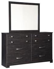 Picture of Reylow Dresser & Mirror