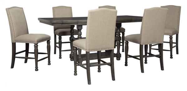 Audberry 7 Piece Counter Height Dining Set Furniture