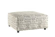 Picture of Alenya Quartz Oversized Accent Ottoman