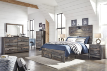 Picture of Drystan 6-Piece Youth Full Storage Bedroom Set