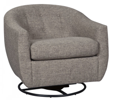 Picture of Upshur Taupe Swivel Glider Accent Chair