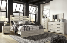 Picture of Cambeck 6-Piece King Panel Bedroom Set