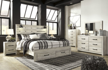 Picture of Cambeck 6-Piece King Storage Bedroom Set