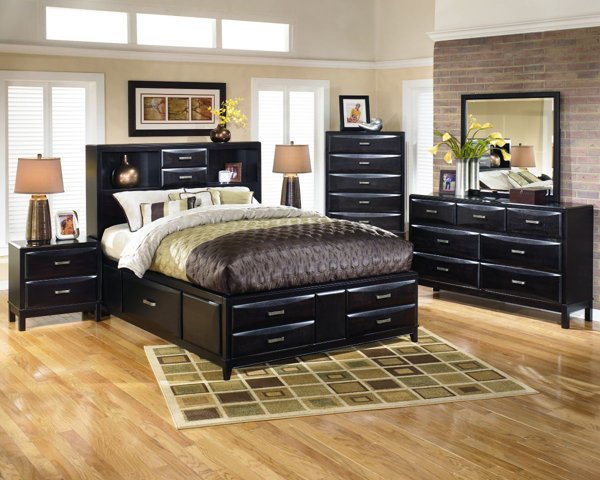 Kira 6-Piece King Storage Bedroom Set