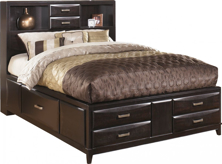 Picture of Kira Queen Storage Bed