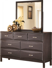 Picture of Kira Dresser & Mirror