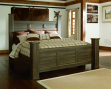 Picture of Juararo King Poster Bed