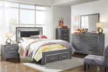 Picture of Lodanna 6-Piece Youth Full Storage Bedroom Set