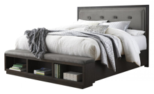 Picture of Hyndell King Upholstered Bed