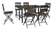Picture of Kavara 7-Piece Counter Height Dining Set