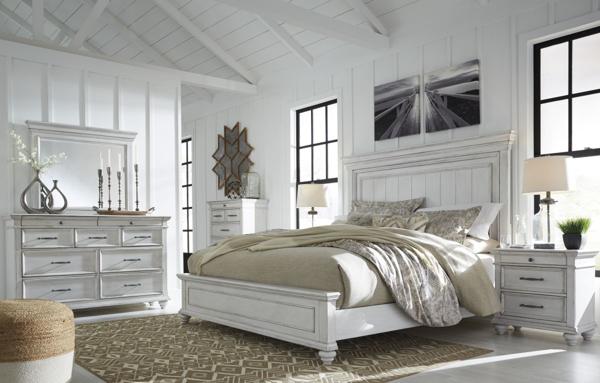 kanwyn 6 piece queen panel bedroom set