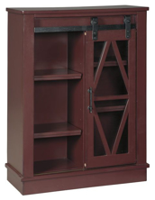 Picture of Bronfield Red Accent Cabinet