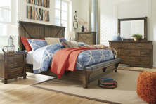 Picture of Lakeleigh 6-Piece King Upholstered Bedroom Set
