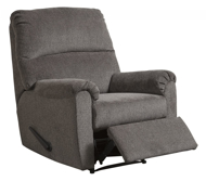 Picture of Nerviano Gray Zero Wall Recliner