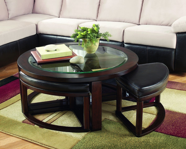 Picture of Marion Round Cocktail Table