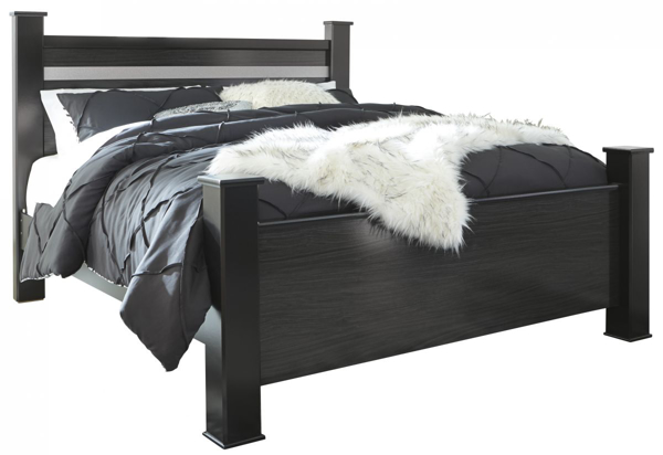 Picture of Starberry King Poster Bed