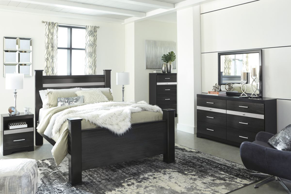 Picture of Starberry 6-Piece Queen Poster Bedroom