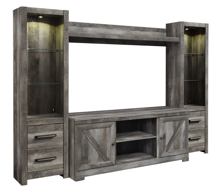 Picture of Wynnlow 4-Piece Entertainment Wall Unit