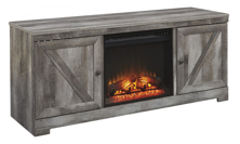 Picture of Wynnlow TV Stand With Fireplace