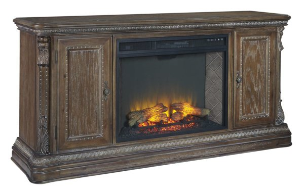Picture of Charmond XL TV Stand With Fireplace