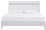 Picture of Jallory King Panel Bed