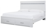 Picture of Jallory King Storage Bed