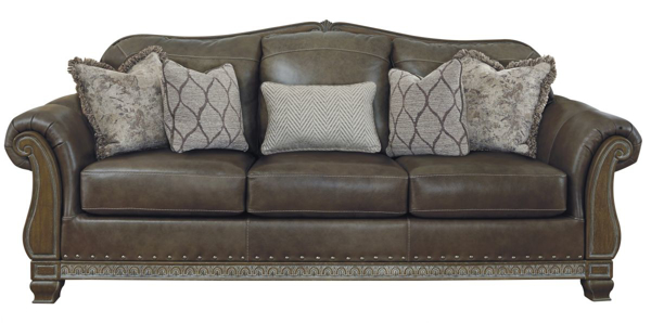 Picture of Malacara Quarry Leather Sofa