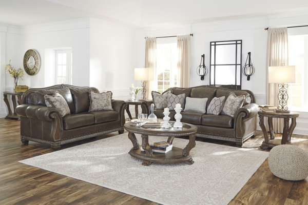 Picture of Malacara Leather 2-Piece Living Room Set