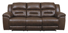 Picture of Stoneland Chocolate Reclining Sofa