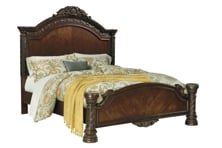 Picture of North Shore Panel Bed