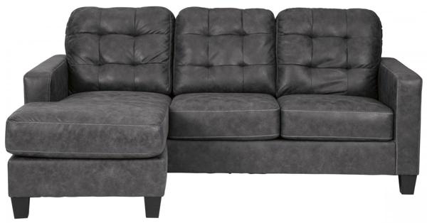 Picture of Venaldi Gunmetal Sofa Chaise