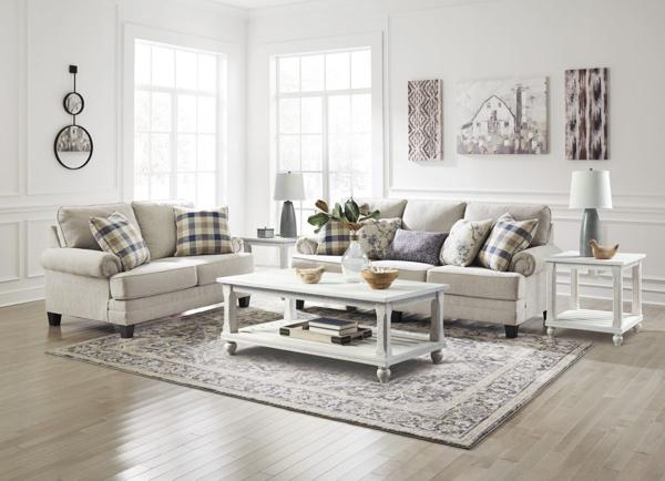 Picture of Meggett Linen 2-Piece Living Room Set